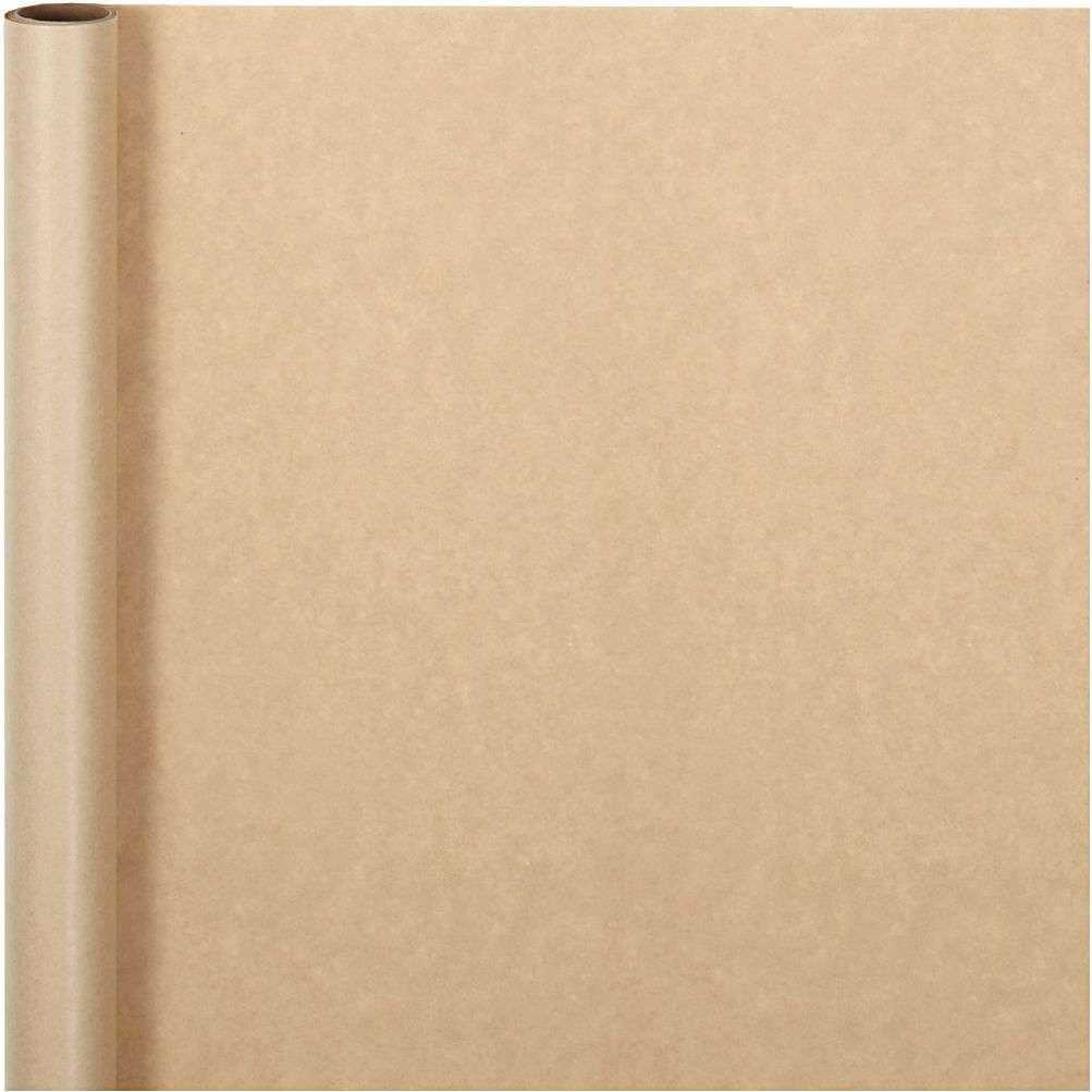 Gavepapir - Gråpapir 50cmx5m