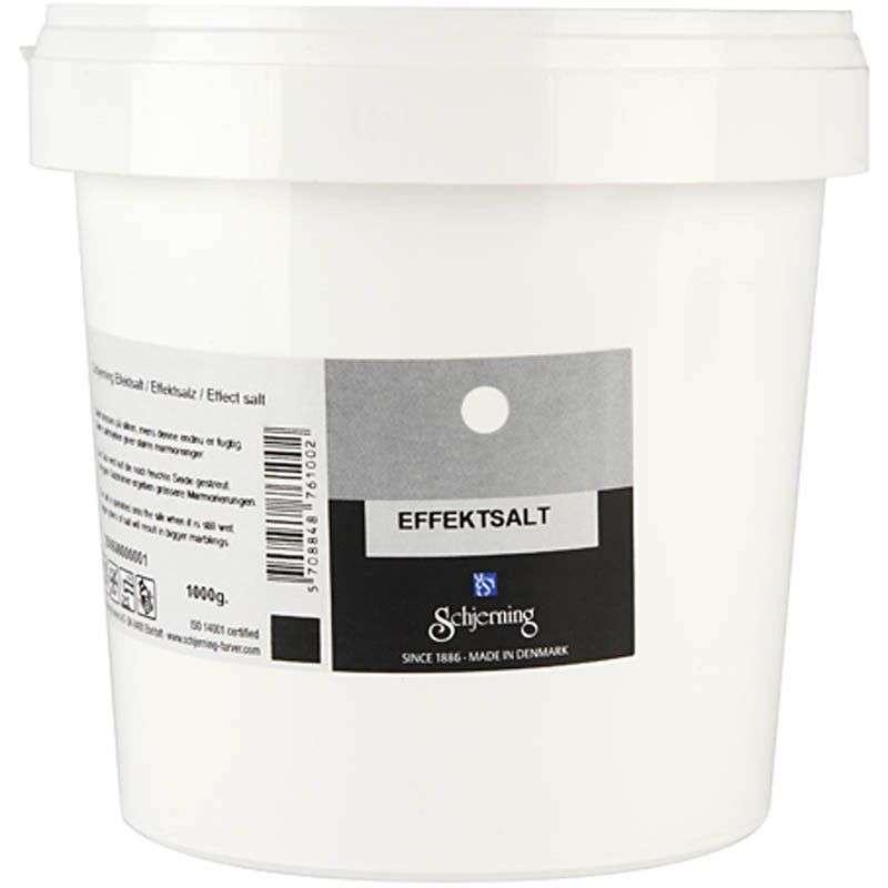Effektsalt til silkemaling - 1 Kg