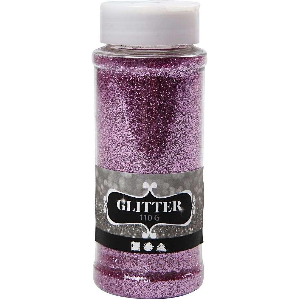 Glitter 110 gram - Rosa 110 G