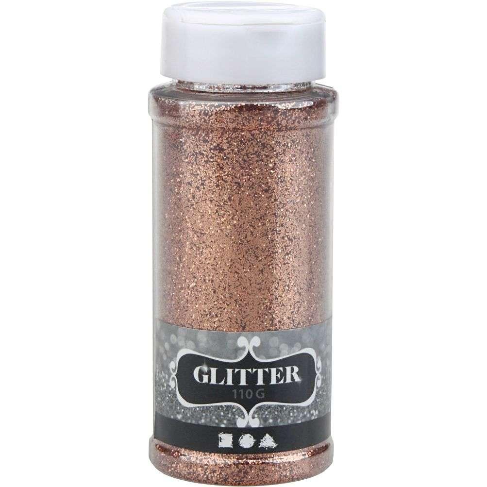 Glitter 110 gram - Kobber 110 G