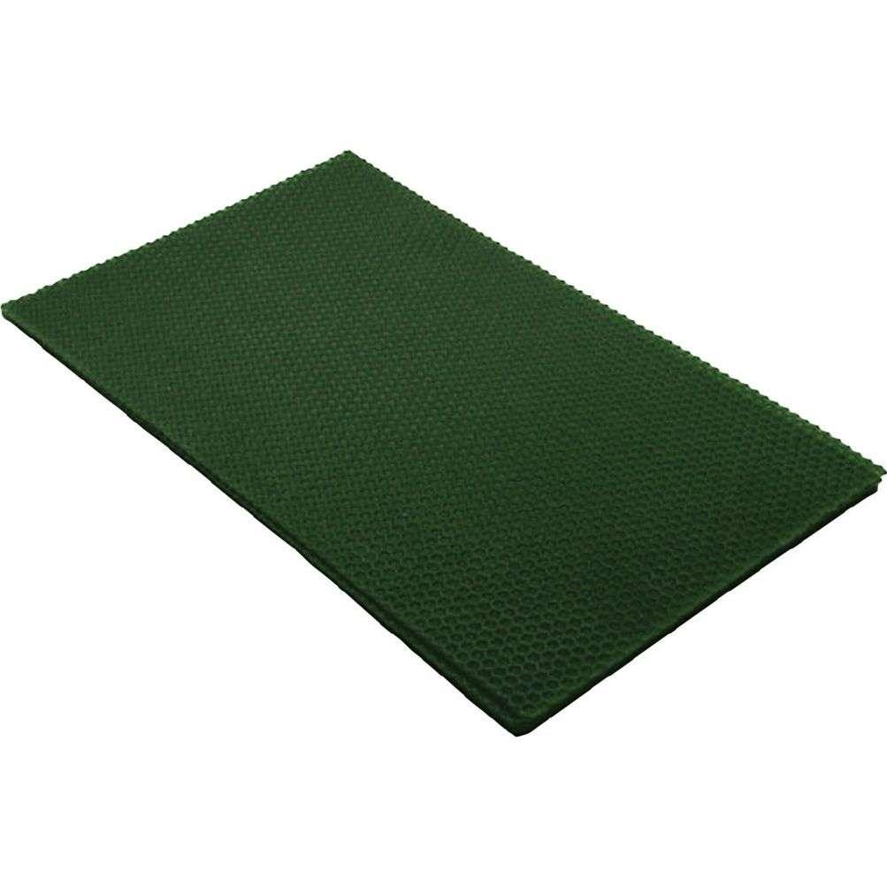 Bivoksplate - Grønn 20x33 Cm
