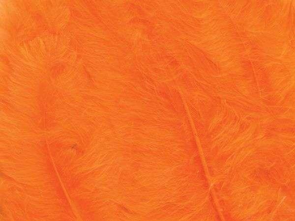 Fjær 15 stk - Orange
