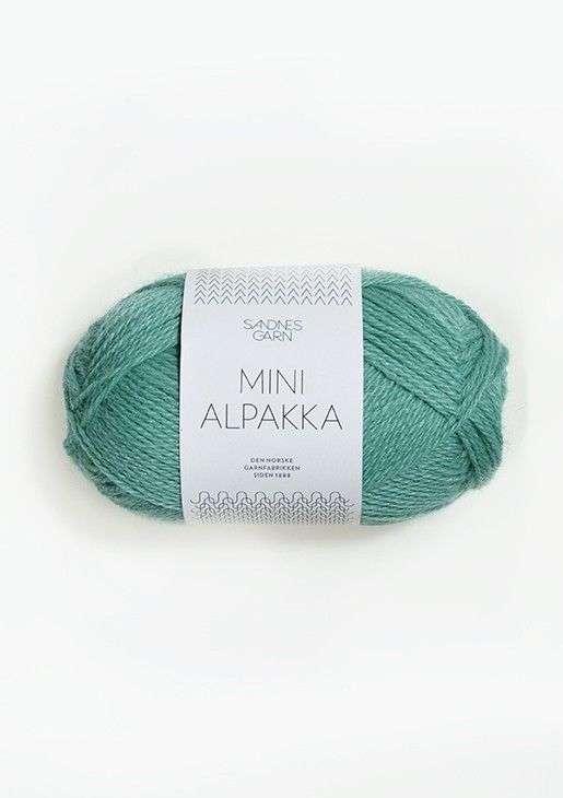 Mini Alpakka TILBUD - Mint 50 G
