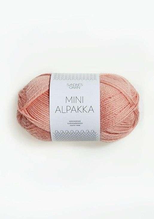 Mini Alpakka TILBUD - Roseslør 50 G