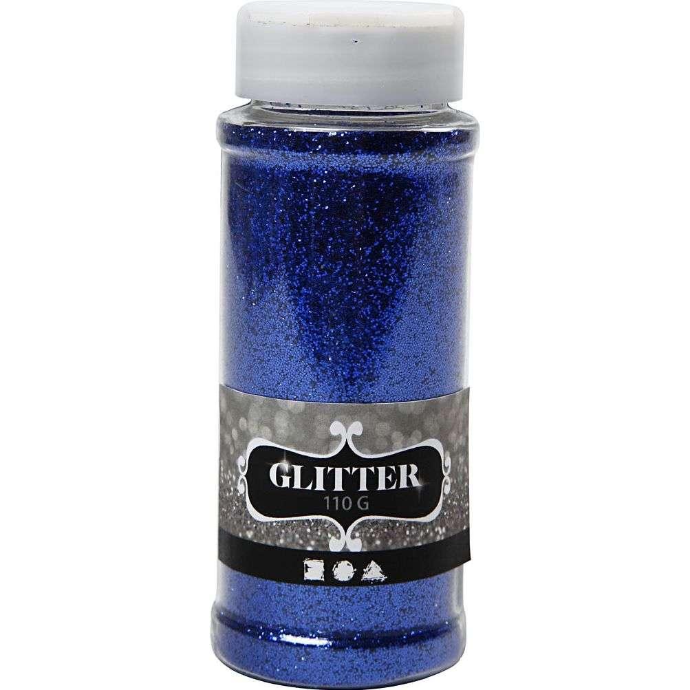 Glitter 110 gram - Blå 110 G