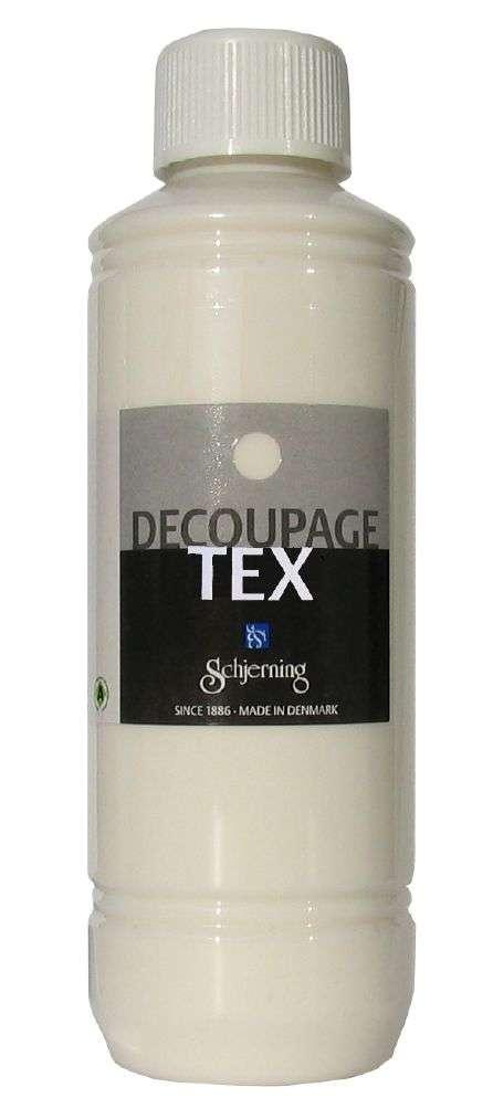 Decoupage tekstil - 250 Ml