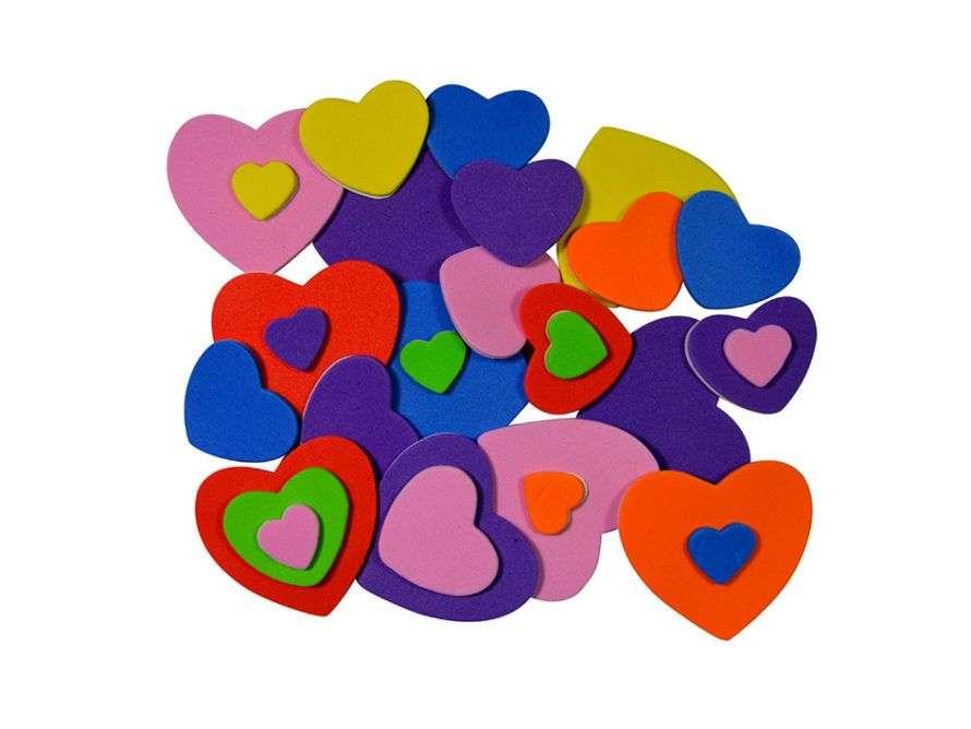 Mosgummi hjerter