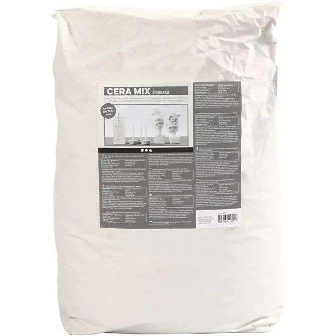 Cera-Mix Standard modellgips - Lysgrå 25kg